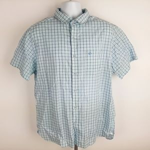 Southern Tide Men's Casual Button Front Shirt Size